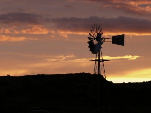 Sunset in the Karoo